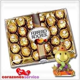 Bombones de Chocolate Ferrero Roche - 300grs.
