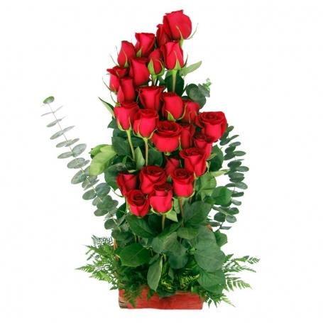 Canastillo De Rosas Ascendente