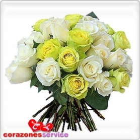 Ramo De Rosas 24 Limon
