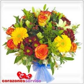 Cesta de Flores Verano Mix