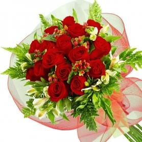 Ramo 16 Rosas Rojas