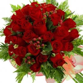 Ramo 28 Rosas Rojas