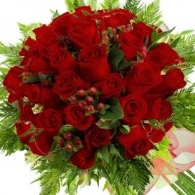 Ramo 34 Rosas Rojas