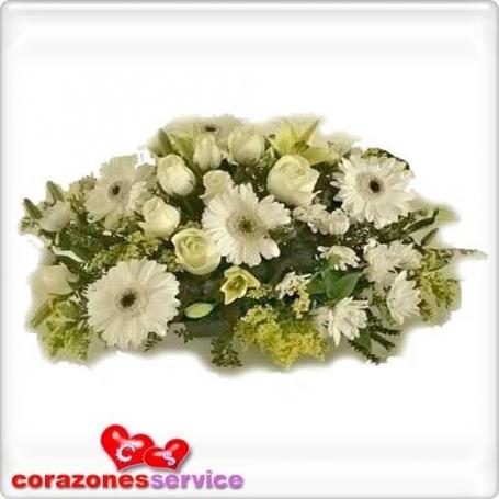 Flores de Condolencia en Ovalo