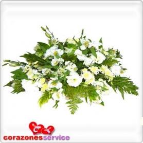 Flores Blancas para Condolencia - Flores Mix